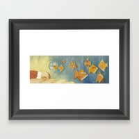 Clovis Sleeping With Fis… Framed Art Print