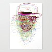 Happy Hat Canvas Print
