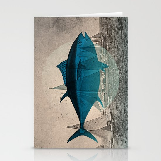 Northern Bluefin Stationery Card