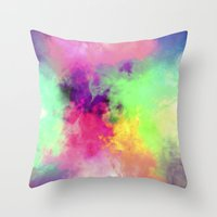 80's Rush Throw Pillow