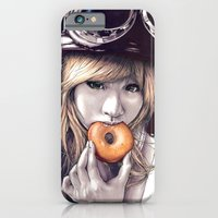 iPhone Cases featuring Shinobu by Peter Fulop