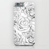 roses iPhone & iPod Cases featuring roses by iphigenia myos