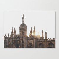 King's College, Cambridg… Canvas Print
