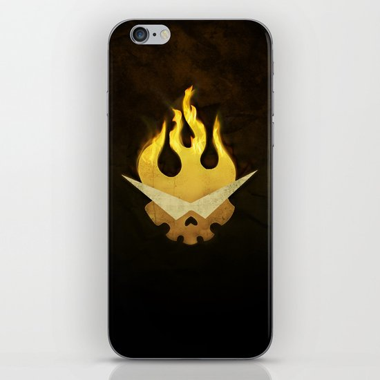 Gurren Lagann Movie Poster iPhone & iPod Skin