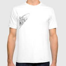 Sphynx White Mens Fitted Tee SMALL