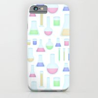iPhone & iPod Case featuring Chemicals  by Caroline David