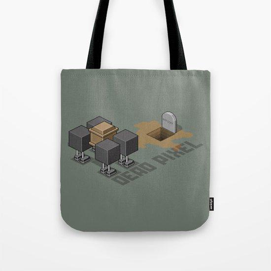 Dead Pixel Tote Bag