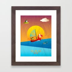 The Legend of Zelda - The Wind Waker Framed Art Print