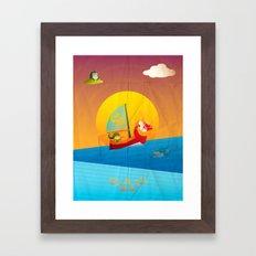 The Legend of Zelda - The Wind Waker Framed Art Print
