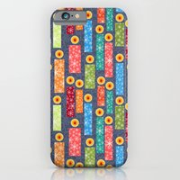 iPhone & iPod Case featuring Snowflake Solstice: Be the light by virginia odien
