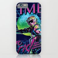 iPhone & iPod Case featuring TIME to ride by Dega Studios