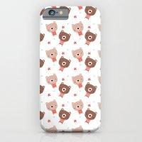 Christmas Cute Bears iPhone 6 Slim Case