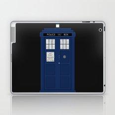 Doctor Who's Tardis Laptop & iPad Skin
