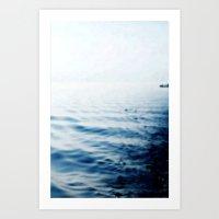 A long journey Art Print