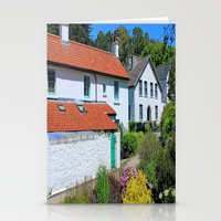 Caldey Island Village.Wales. Stationery Cards