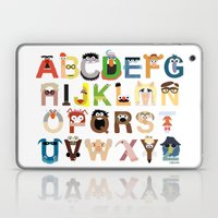 Muppet Alphabet Laptop & iPad Skin