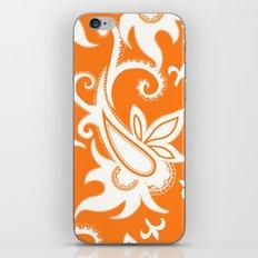 Paisley: Orange Ivory iPhone & iPod Skin