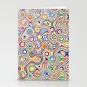 color forms Abstract  Stationery Cards