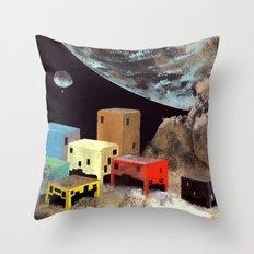 uzakta yaşam Throw Pillow