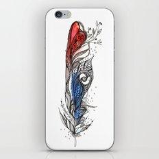 Eye-ris Feather iPhone & iPod Skin