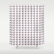 Dots and Dots - JUSTART © Shower Curtain