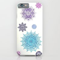 iPhone & iPod Case featuring snowflakes by Rinneko