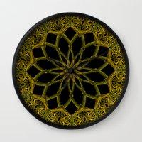 Kaleidoscope 'RK3 SQ' Wall Clock