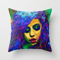 Selena (pop) Throw Pillow