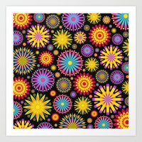 Bright And Colorful Flow… Art Print