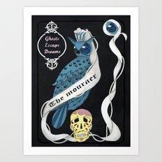 The Mourner Art Print
