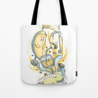 Honeysiiickle Tote Bag