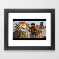 Playtime Framed Art Print
