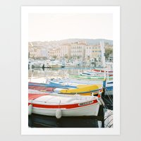 La Ciotat - Boats Art Print