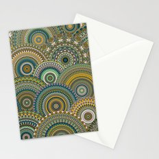 Mandala Mania-Mineral colors Stationery Cards