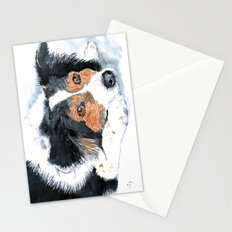 Border Collie Mattie Stationery Cards