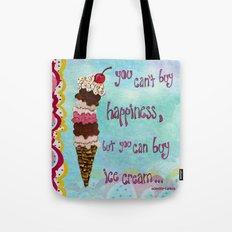 Ice Cream Happiness Tote Bag