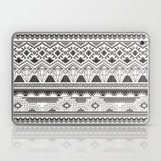 CRYSTAL AZTEC B/W  Laptop & iPad Skin