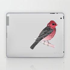 Scarlet Rosefinch Laptop & iPad Skin