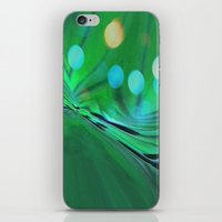 Moons Rise Over Triton iPhone & iPod Skin