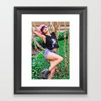 Sexy Laid Back 2 Framed Art Print