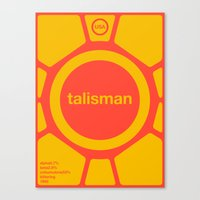 Talisman Single Hop Canvas Print