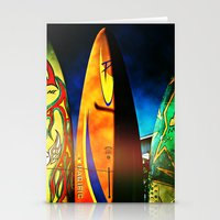 Tough Surf Stationery Cards