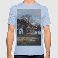 Hilltop Homestead Mens Fitted Tee Athletic Blue SMALL