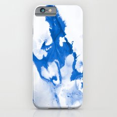 Paint 3 abstract modern art wall art for college dorm school trendy painting brushstrokes water wave Slim Case iPhone 6s