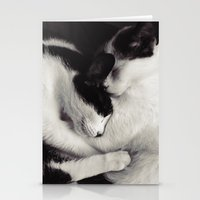 like mother, like daughter Stationery Cards