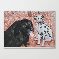 Yin and Yang Canvas Print