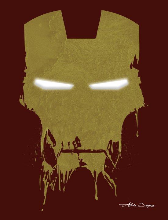 Iron Dirty Man Art Print