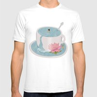 Relax Mens Fitted Tee White SMALL