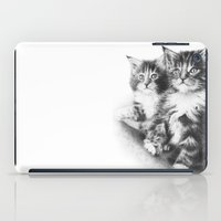 Double Dose of  Kittens iPad Case