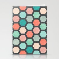 Hexagon 1 Stationery Cards